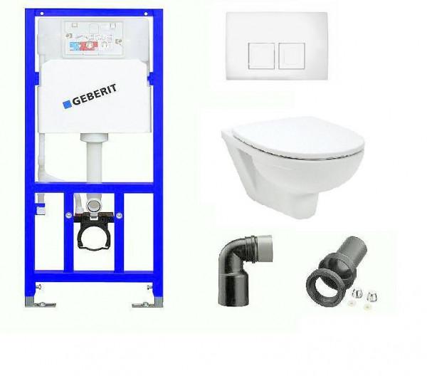 WC Komplettset mit Geberit Spülkasten
