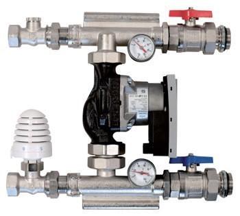 Festwertregelset Regelstation mit Hoch-Effizienz-Pumpe